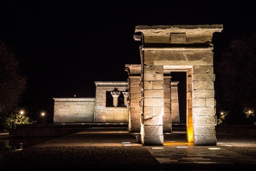 templo-de-debod-nocturna